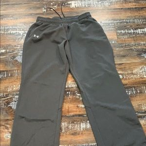 Women's under armour sweat pants